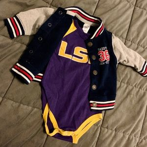 Baby boy football 🏈 outfit